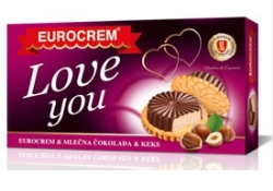 LOVE YOU EUROCREM&CIOCO&BISCUITI 140 G